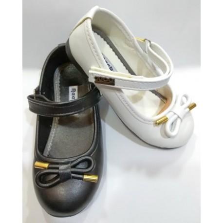 کفش مجلسی دخترانه پاپیون طلایی (کد 171)