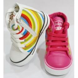 کفش کتانی ساقدار بچگانه (کد 87)